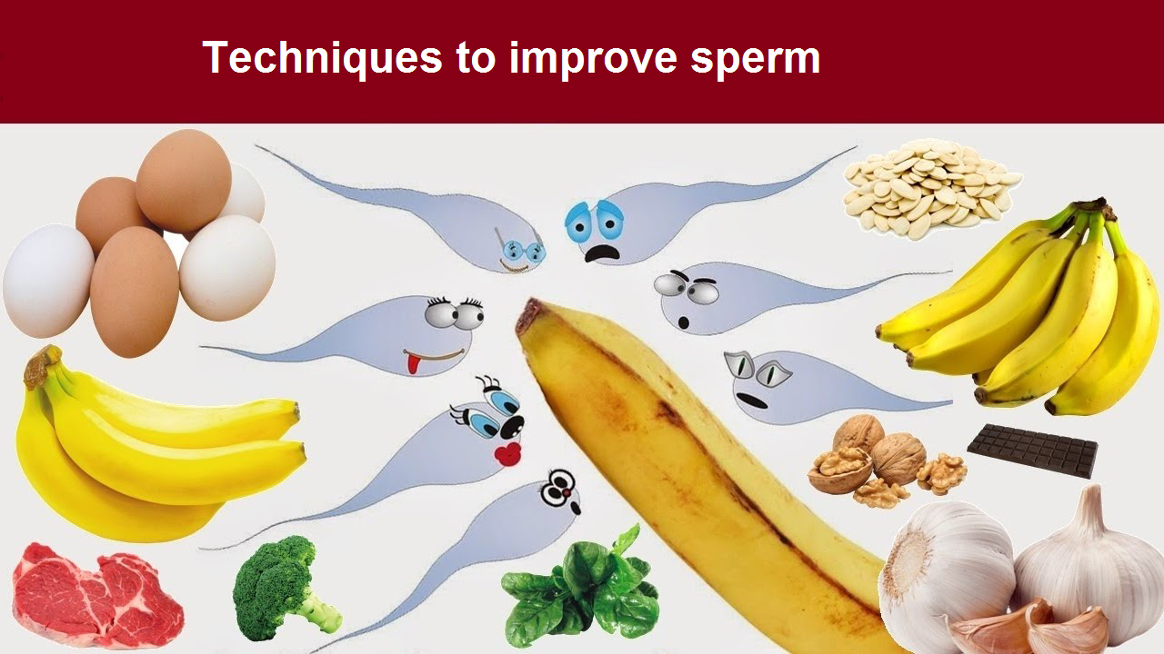 Techniques to improve sperm