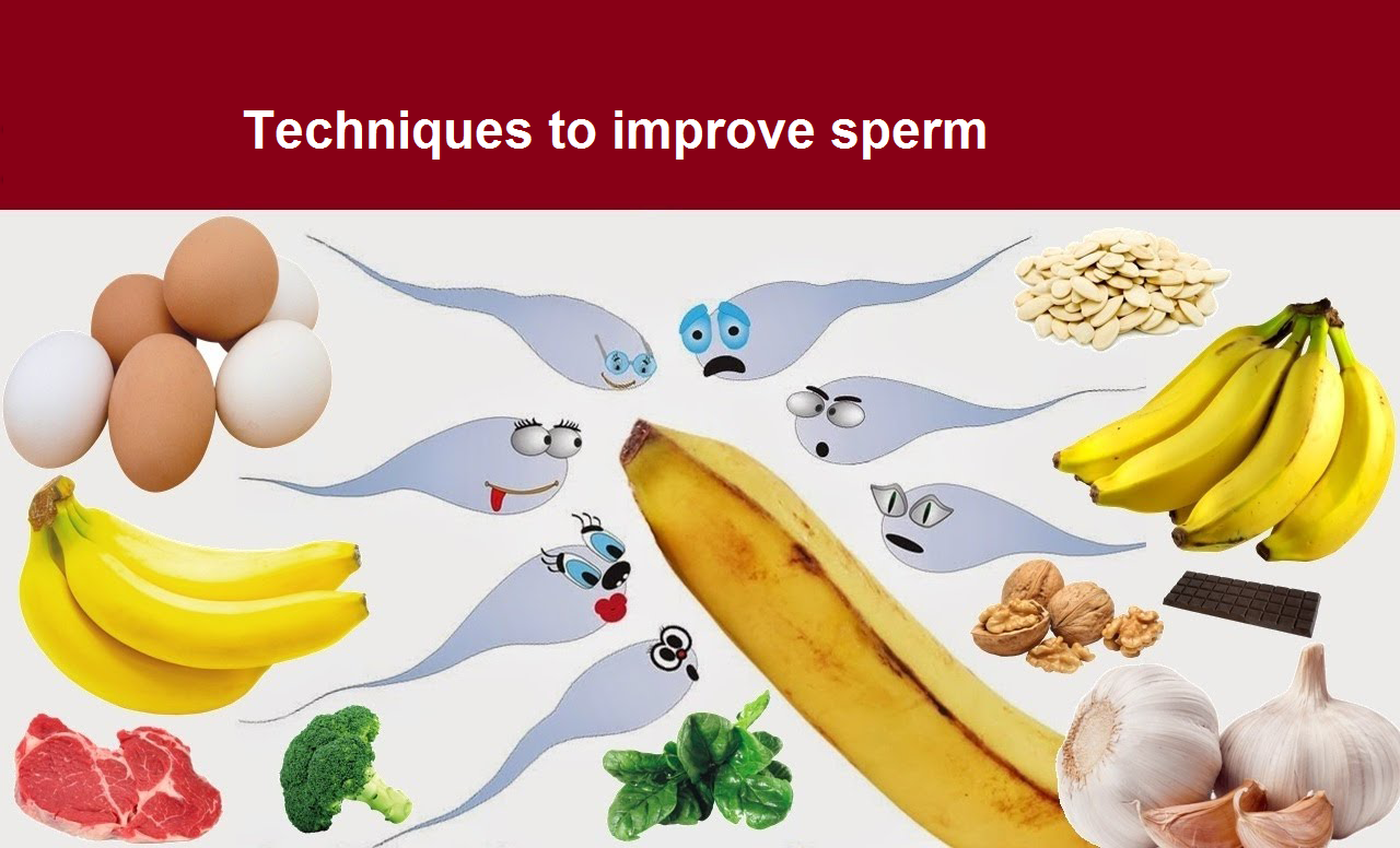 Techniques to improve sperm The sperm improvement methods – swim-up, density-gradient sperm separation and magnetic sperm separation – employed here at AAFC, aim to select and isolate the best sperm candidates for Assisted Reproductive Techniques (ARTs). With ARTs, semen samples must first be processed before used for insemination. In nature, the sperms that reach an egg separate themselves from the ejaculate as they pass through the cervical mucus. In the laboratory, the sperm improvement methods that are used are intended to replicate this natural process as closely as possible.