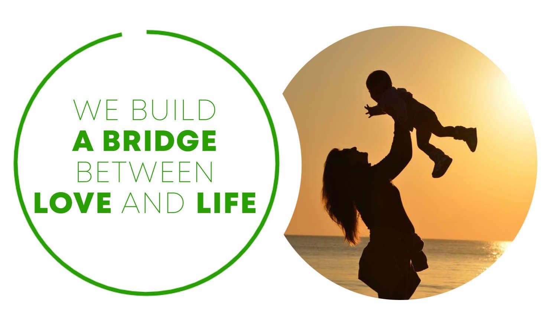 نبني جسرا بين الحب والحياة We Build a Bridge Between Love and Life
